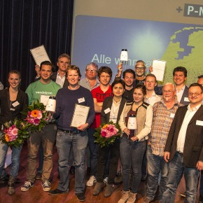 De winnaars van de P-NUTS Awards 2015!