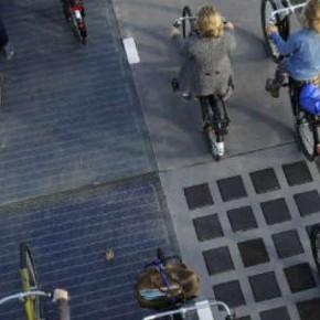 Zonnefietspad slaat nieuwe wegen in