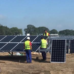 Solarpark Kwekerij Hengelo levert begin augustus eerste stroom